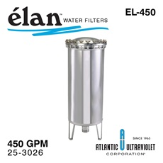 élan™ EL-450: Stainless Steel Filter Housing, up to 450 GPM