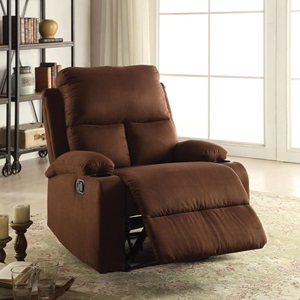 59553 CHOCOLATE RECLINER
