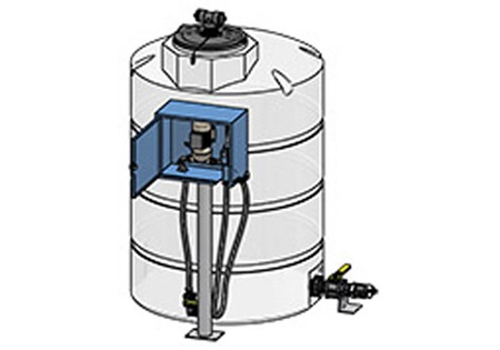 CCI - 6500 Gallon Dispensing and Storage Tank, 120