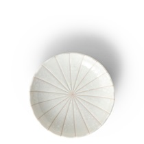 "Kasa Lines White 4.75"" Plate"