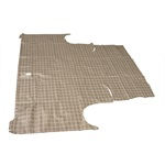 60-63 Falcon Trunk Mat (Plaid)