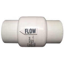 "CHECK VALVE: AUTOMATIC FEEDER 332 1-1/2"" X 2"""