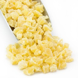Pineapple Dices, Low Sugar