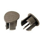 87-93 Arm Rest Plugs (Gray, LH)