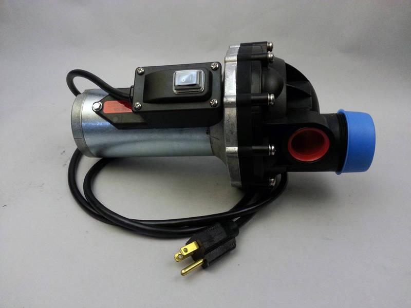 CCI - Hypro Shurflo Bulk Chemical Transfer Diaphragm Pump 110v
