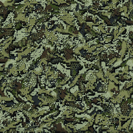 Desolve Wing Camo Lid Green 40 Quart