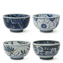 "Sometsuke 5"" Bowl Set"