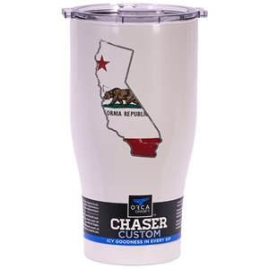 California State Flag Distressed Chaser 27oz