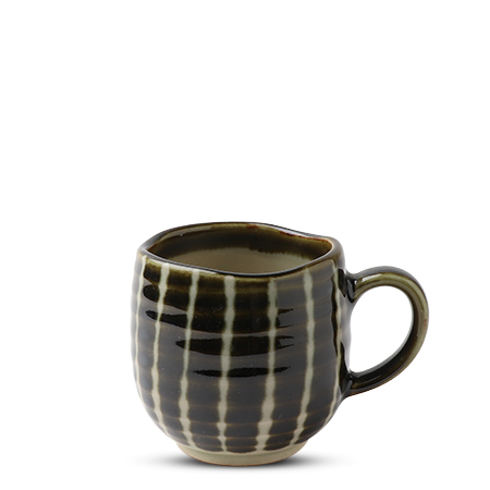 Oribe Green Striped 8 Oz. Mug