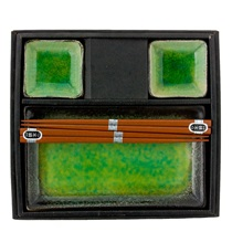 Ariake Green Sushi Set