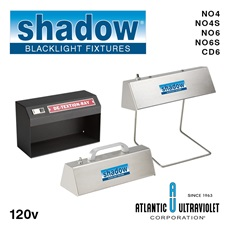 Shadow® Blacklight Standing and Handheld Fixtures