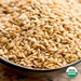 Organic Raw Golden Flax Seeds (1 lb)