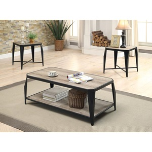 81920 3PC PK COFFEE/END TABLE SET