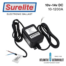Ballast: 12vDC 12-21 watts w/o connector/plug thru