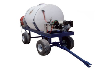 200 Gallon 4-Wheel Spray Trailer