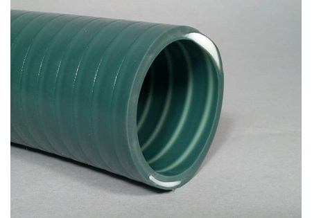 "2"" Heavy Duty Green PVC Suction Hose"