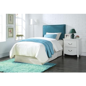 39115Q BLUE QUEEN HEADBOARD