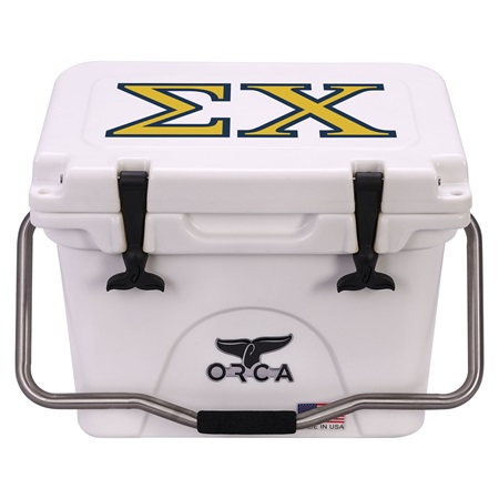Sigma Chi White 20 Quart