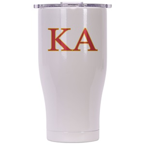 Kappa Alpha Order Pearl/Clear Chaser 27oz