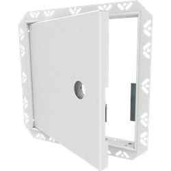 Architectural Access Door with Drywall Bead Flange, Mortise Lock Prep