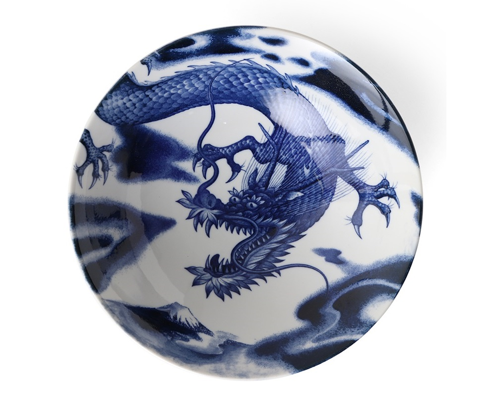 "Flying Dragon 10"" Bowl"