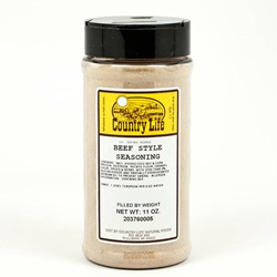 Beef Style Seasoning - Country Life (11oz)