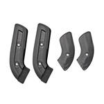 67-77 Bronco Seat Hinge Covers, Black