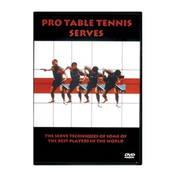 Pro Table Tennis Serves DVD