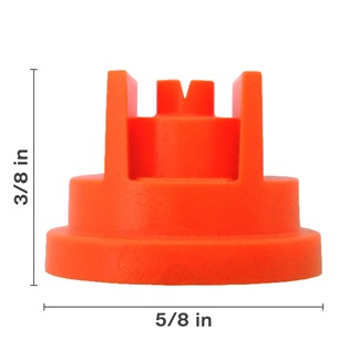 Polyacetal Orange 80° Nozzle Spacing