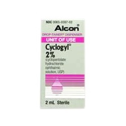 Cyclogyl Drops 2%, 2mL