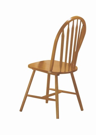 02482OAK OAK ARROWBACK WINDSOR CHAIR