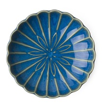 "Kiku 4.5"" Small Plate - Blue"