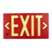 Red 100' Exit Sign