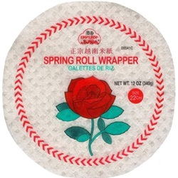 WRAPPERS SPRING ROLL 12 INCHES