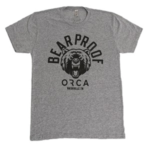 BEAR PROOF HEATHER GREY