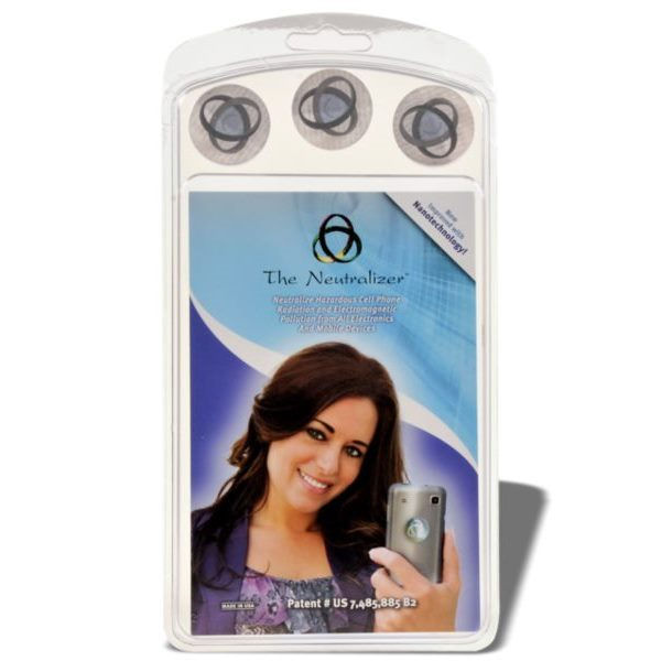 Selina Naturally - Cell Phone EMF Radiation Neutralizers (3-pack)