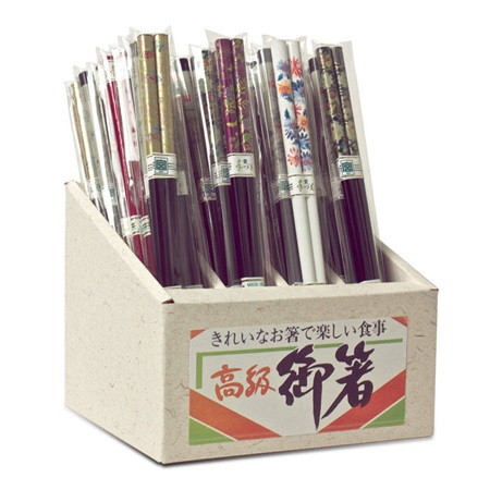 Chopsticks Assorted 72 Pr Set
