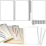 Legal Index Tabs and Dividers
