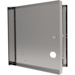 Recessed Access Door with No Flange and Cam Latch