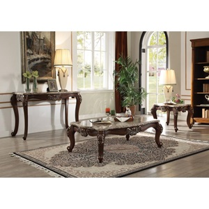 81695 COFFEE TABLE W/MARBLE TOP