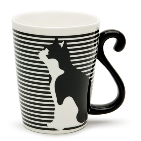 Cat Tail Striped Mug 1