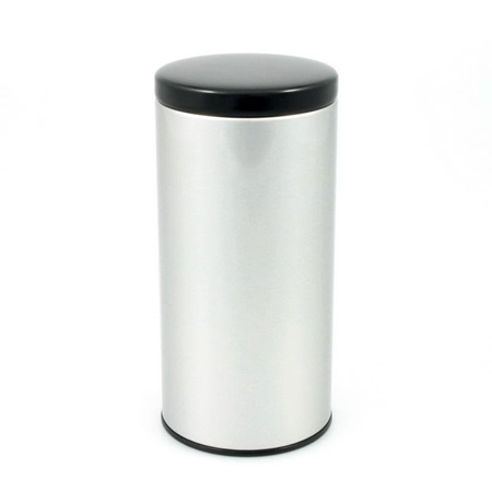 Tea Canister with Black Lid 200g