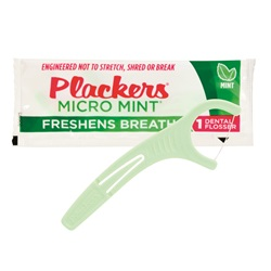 Plackers Micro Mint Dental Flosser