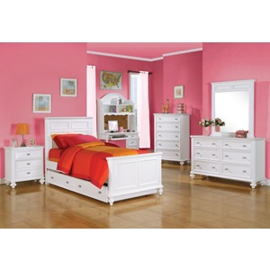30009 WHITE NIGHTSTAND