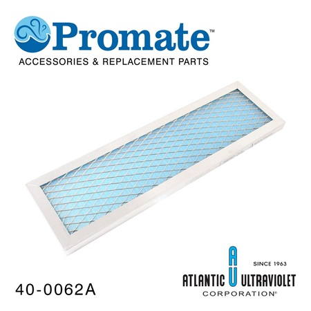 "Promate Washable / Electrostatic Filter: 6"" x 20"" x 1"""