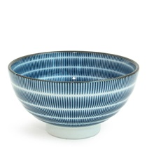 "SEN COLORS 4.5"" RICE BOWL - NAVY"