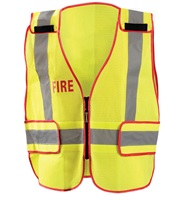 "DOR Public Safety ""Fire"" Mesh Vest"