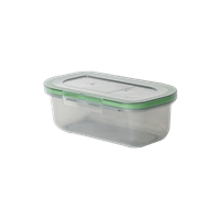 "MyGo™ Single Half-Size Compartment Container, 8"" X 5"" X 2-½"""