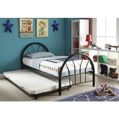 30450T-BK TWIN METAL BED