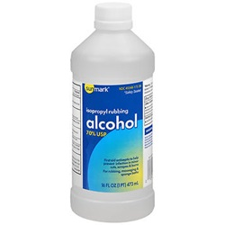 Isopropyl Rubbing Alcohol 70%, 16 oz.